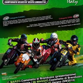 Calendario Castelletto Di Branduzzo.Calendario 2012 Vpi Campionato Velocita Vespa Lambretta