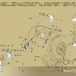 Selettore Cambio - Presa B.T. - Bobina A.T. - Accensione Elettronica